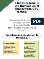 Enfoque Biopsicosocial y Desarrollo Humano en El Nino