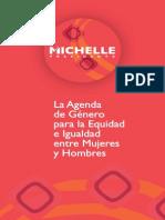 Agenda Género Bachelet