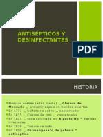 Antisepticos y Desinfectantes 2013