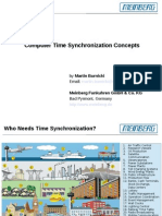 Computer Time Synchronization Concepts - Presentation - 2013-04-30