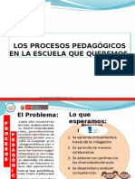 procesos pedaggicos