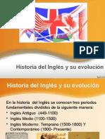 Historia Del Inglés