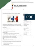 Recomendaciones Para Elaborar La Misión y Visión de Tu Empresa