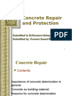 Concrete Repair and Protection