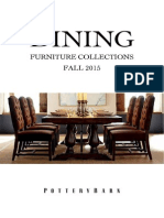 Pottery Barn Dining Collection- Fall 2015