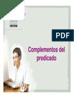 complementosdelpredicado-110919133942-phpapp01