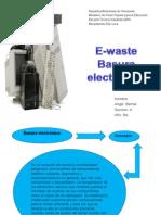 Waste Basura Electronic A