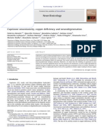 Cuprizone neurotoxicity, copper deficiency and neurodegeneration
