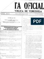 Gaceta Oficial 4103 Urbanismos