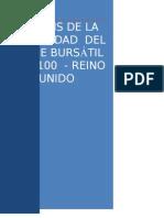 ANÁLISIS DE LA VOLATILIDAD  DEL ÍNDICE BURSÁTIL FTSE 100  - REINO UNIDO