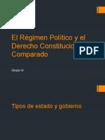 El Régimen Político y el Derecho Comparado - Diapositivas