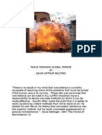 Peace Through Global Terror by David Arthur Walters