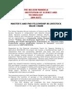 Livestock Fellowship