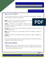 Estructura de Textos Academicos