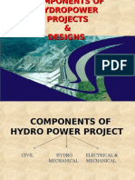 Components of Hydropower Projects & Designs