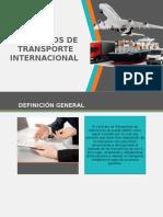 Contratos de Transporte Internacional