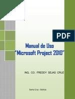 Manual de USo de Project 2010