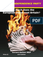 How Much Does The European Union Cost Britain?