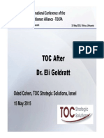 Oded Cohen_after Goldratt_ENG_17 TOCPA_Vilnius_15 May 2015