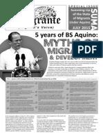 Tinig Migrante July 2015
