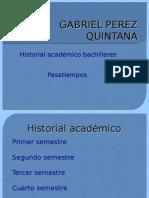historial academico