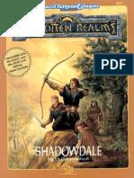 AD&D - Forgotten Realms - Adventure - Shadowdale.pdf