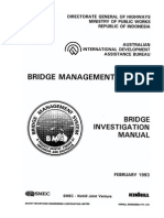Bridge Investigation Manual