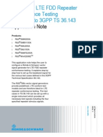 Signals for LTE FDD Repeater Conformance Testing according to 3GPP TS 36.143