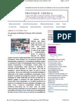 Un paysage médiatique français Juif contrasté