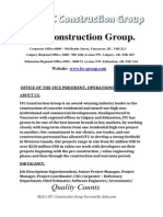 Vacancy ITC Construction Group