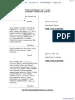 Majerczyk v. Menu Foods, Inc. - Document No. 19