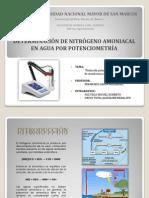 Determinación de Amoniaco