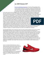 Acheter Nike Air Max 2009 Homme KP7