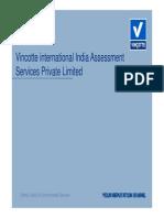 Vincotte-EnMS Certification - Presentation