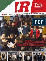Innovation Marketing S.I.R Magazine Q3 2015
