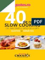 Retete Carte de Bucate Slow Cooker