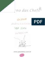Caderno Das Chefs Panelinha