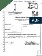 Alan Devon v. Ken Clark - Document No. 4