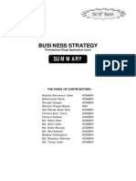 Business Strategy Summary
