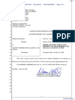 Duarte v. Target Corporation - Document No. 5