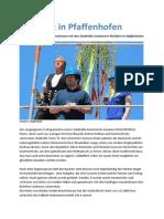 Richtfest in Pfaffenhofen