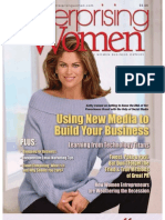 Valeria Maltoni in Enterprising Women Magazine