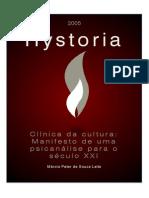 Clinica Da Cultura Manifesto de Uma Psicanalise Para o Seculo XXI