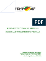TRT4 Regimento Interno