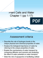 Plant Cells and Water