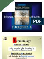 Lec 14 Discrete Prob Dist SLIDE