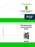 UNEP POPS NIP Mauritania 1.French