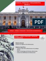 Unidad 1 Democracias Principios Procedimientos Origen Lectura Ed4