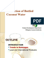 Cocowater Processing Introduction
