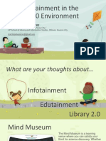 Info-Edutainment in the Library 2.0 Environment
